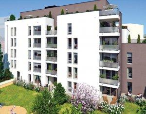 Achat / Vente programme immobilier neuf Villeurbanne rue Jean Voilot (69100) - Réf. 2374