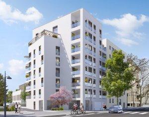 Achat / Vente programme immobilier neuf Villeurbanne secteur Croix-Luizet proche La Doua (69100) - Réf. 6327