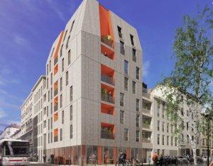 Achat / Vente programme immobilier neuf Villeurbanne secteur Grand Clément Tolstoï (69100) - Réf. 5520