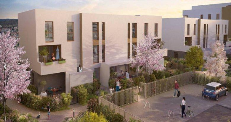Achat / Vente programme immobilier neuf Brignais proche coeur de ville (69530) - Réf. 2765