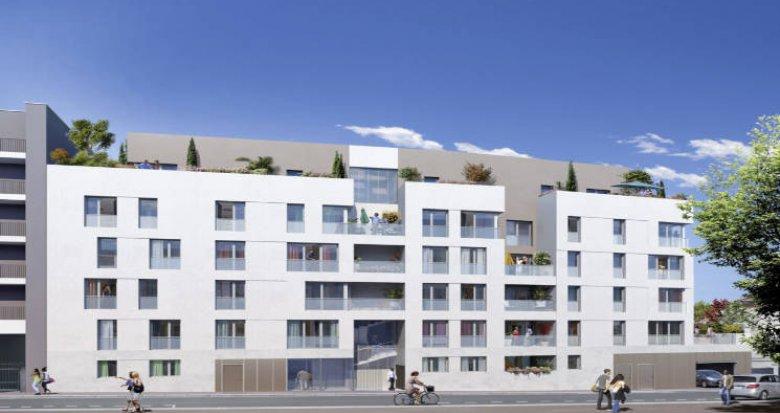Achat / Vente programme immobilier neuf Bron à 300m du tramway Hôtel de Ville (69500) - Réf. 5593