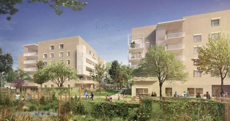 Achat / Vente programme immobilier neuf Bron proche parcs (69500) - Réf. 4466