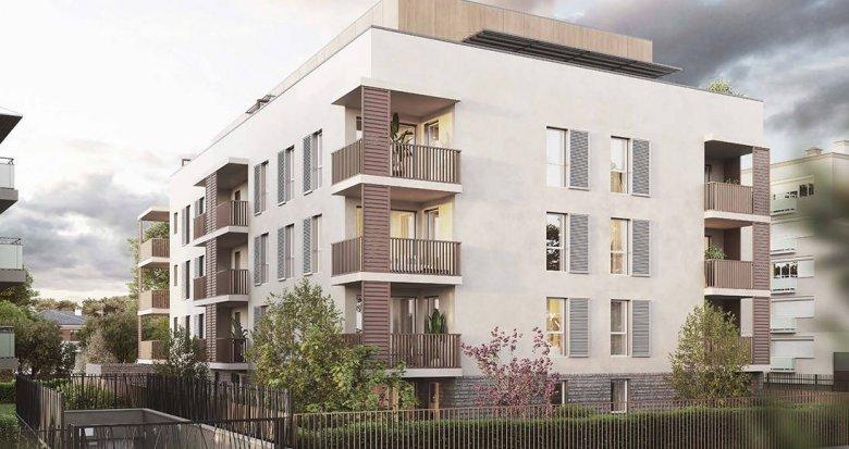 Achat / Vente programme immobilier neuf Bron quartier Terraillon proche T5 (69500) - Réf. 6258