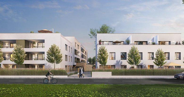Achat / Vente programme immobilier neuf Caluire-et-Cuire face à la Saône (69300) - Réf. 1765