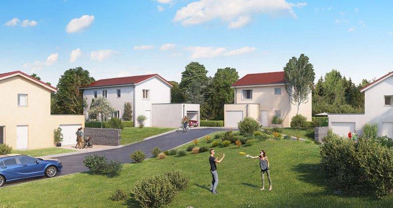 Achat / Vente programme immobilier neuf Chaponnay proche de Lyon (69970) - Réf. 2552