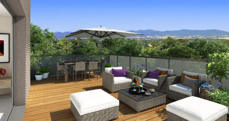 Achat / Vente programme immobilier neuf Charbonnières-les-Bains dans domaine privé (69260) - Réf. 124
