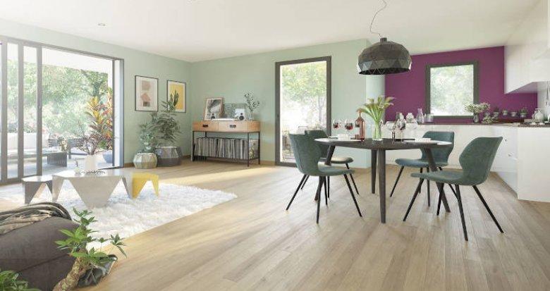 Achat / Vente programme immobilier neuf Charbonnières-les-Bains en coeur de ville (69260) - Réf. 5105