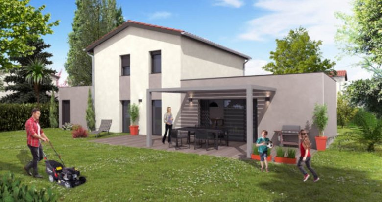 Achat / Vente programme immobilier neuf Charly proche centre (69390) - Réf. 2922