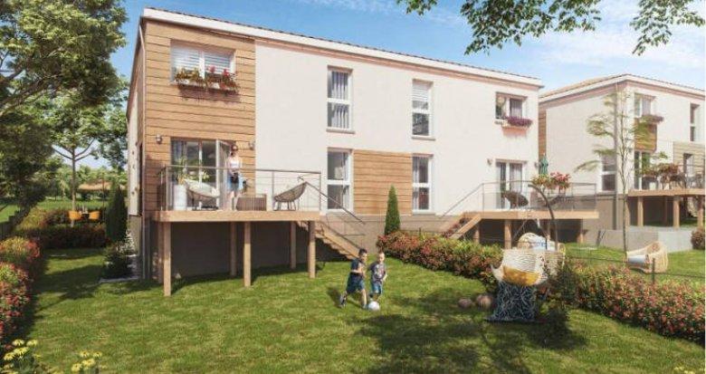 Achat / Vente programme immobilier neuf Chassagny avec commodités à 200 mètres (69700) - Réf. 4967
