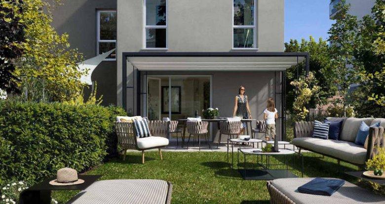 Achat / Vente programme immobilier neuf Chassieu au cœur du village (69680) - Réf. 5511