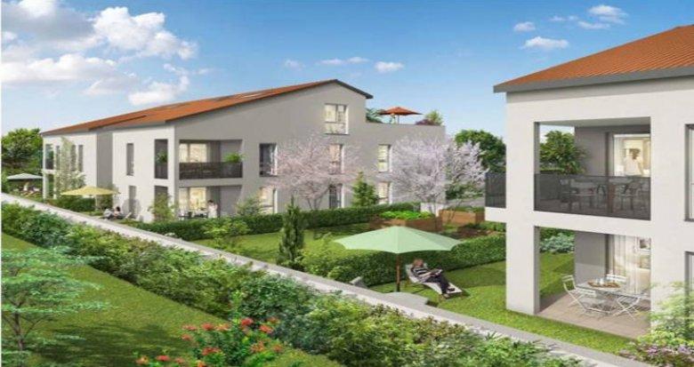 Achat / Vente programme immobilier neuf Corbas proche gare Saint-Priest (69960) - Réf. 3497