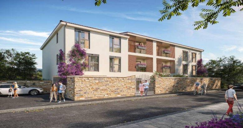 Achat / Vente programme immobilier neuf Couzon-au-Mont-d'Or à 5min du centre-bourg (69270) - Réf. 5623