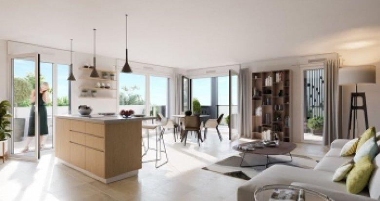 Achat / Vente programme immobilier neuf Craponne proche place Marie-Andrée (69800) - Réf. 2222