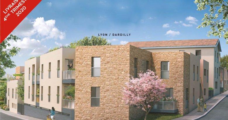 Achat / Vente programme immobilier neuf Dardilly quartier calme et résidentiel (69570) - Réf. 2686