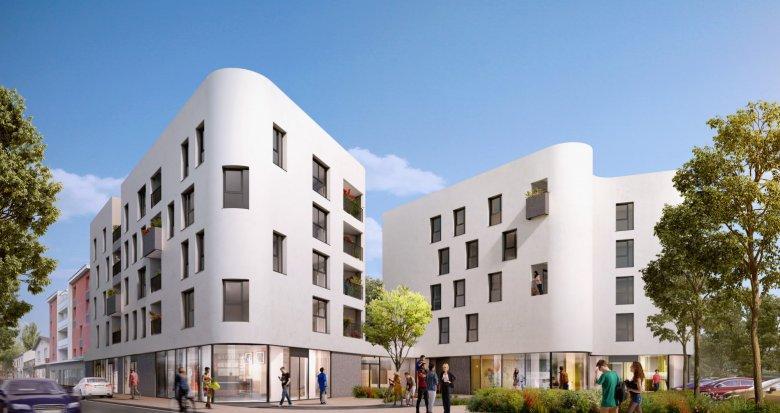 Achat / Vente programme immobilier neuf Décines centre-ville (69150) - Réf. 2473