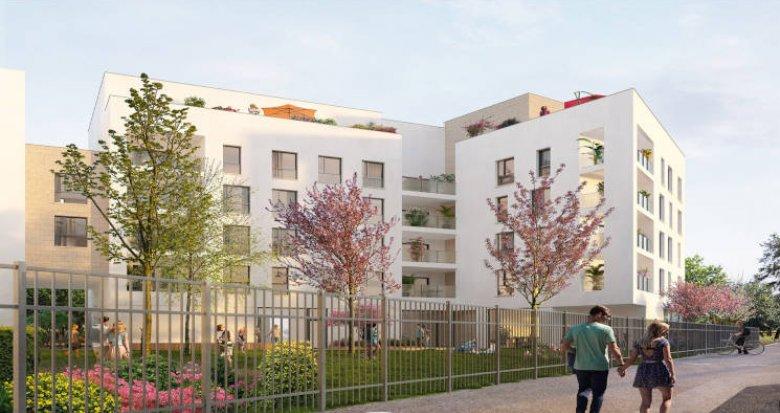 Achat / Vente programme immobilier neuf Décines-Charpieu à 5 min à pied du T3 et T7 (69150) - Réf. 5624