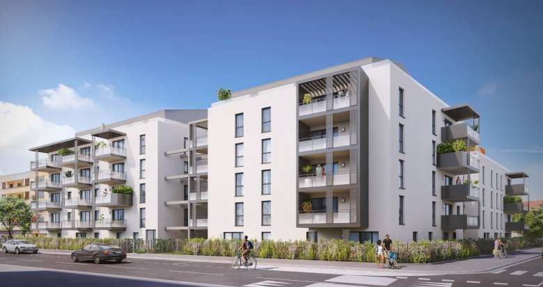 Achat / Vente programme immobilier neuf Décines-Charpieu centre proche mairie (69150) - Réf. 6224