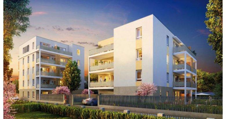 Achat / Vente programme immobilier neuf Décines-Charpieu proche Parc Maurice Sauthier (69150) - Réf. 966