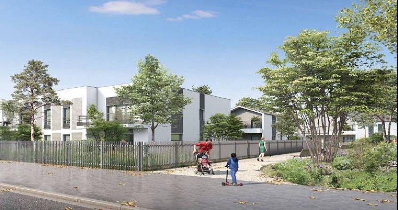 Achat / Vente programme immobilier neuf Décines-Charpieu proche tramway T3 (69150) - Réf. 3358