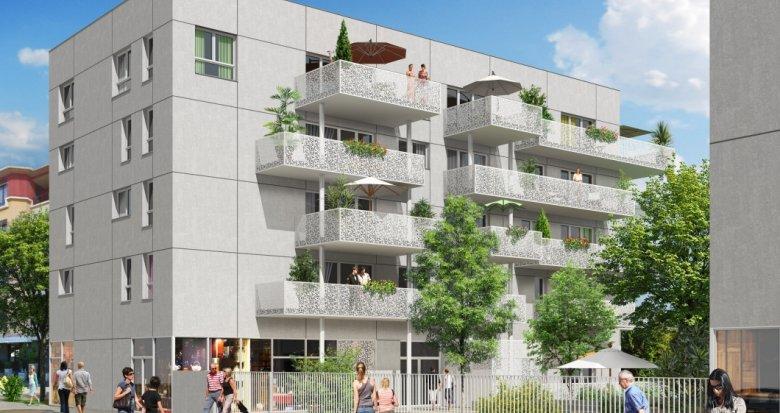 Achat / Vente programme immobilier neuf Décines en face de la place François Mitterrand (69150) - Réf. 2228