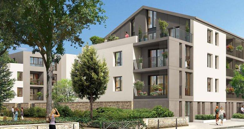 Achat / Vente programme immobilier neuf Ecully proche Parc des Chênes (69130) - Réf. 908