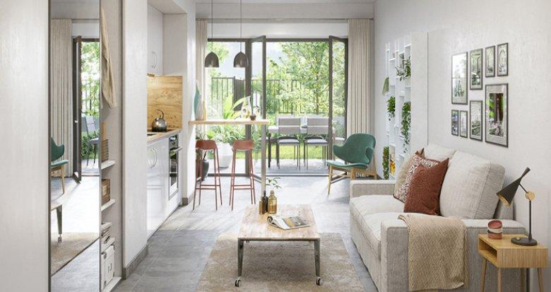 Achat / Vente programme immobilier neuf Feyzin à 5 min du Parc de l'Europe (69320) - Réf. 5512