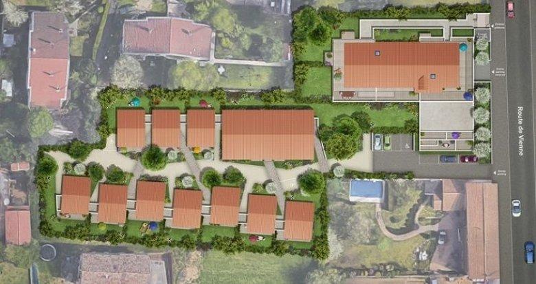 Achat / Vente programme immobilier neuf Feyzin quartier de la Bégude (69320) - Réf. 1151