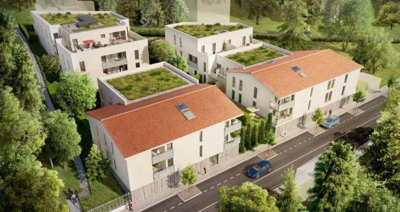Achat / Vente programme immobilier neuf Fontaines-Saint-Martin proche Lyon (69270) - Réf. 3191