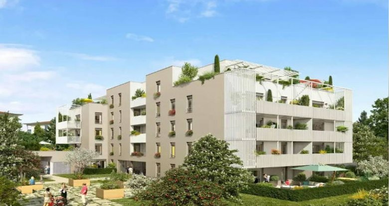 Achat / Vente programme immobilier neuf Francheville au pied des transports (69340) - Réf. 4478
