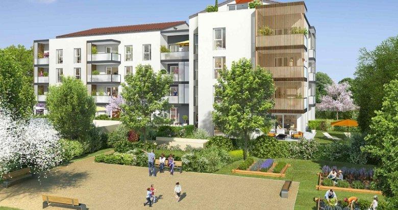 Achat / Vente programme immobilier neuf Francheville Bel-Air (69340) - Réf. 575