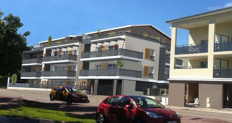 Achat / Vente programme immobilier neuf Genas face à l'église et 15 minutes de Lyon (69740) - Réf. 762