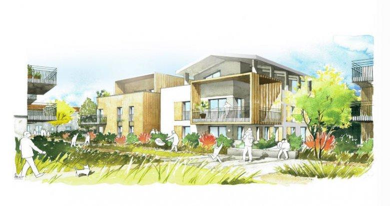 Achat / Vente programme immobilier neuf Genas quartier d'Azieu (69740) - Réf. 5880
