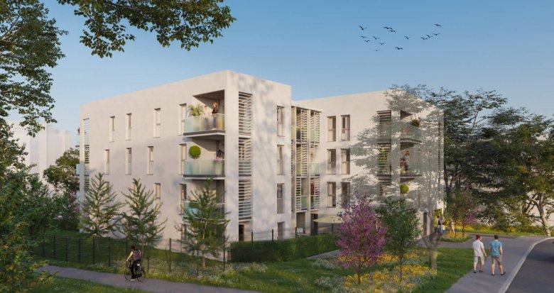 Achat / Vente programme immobilier neuf Gleizé proche centre-ville Villefranche-sur-Saône (69400) - Réf. 6144