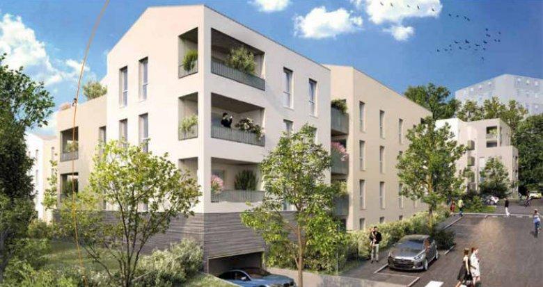 Achat / Vente programme immobilier neuf Gleizé proche de la pharmacie de Claire (69400) - Réf. 4026