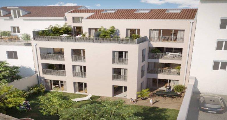 Achat / Vente programme immobilier neuf Lyon 03 à 350m du T4 Dauphiné-Lacassagne (69003) - Réf. 5682