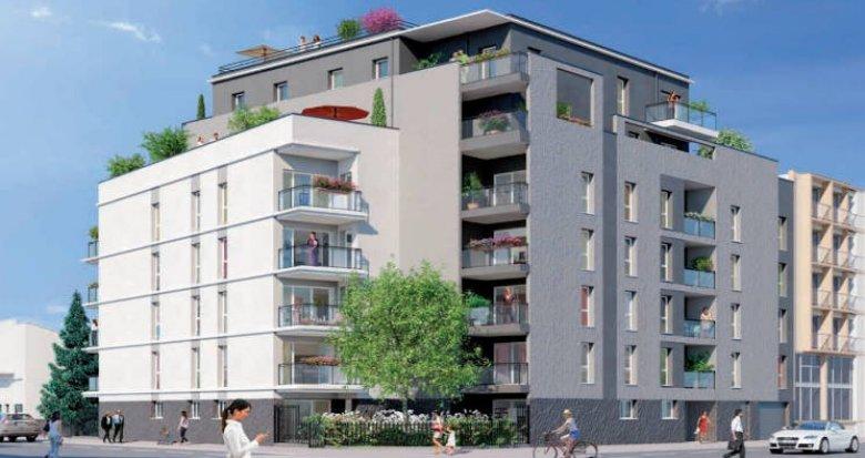 Achat / Vente programme immobilier neuf Lyon 07 à deux pas des transports (69007) - Réf. 4751
