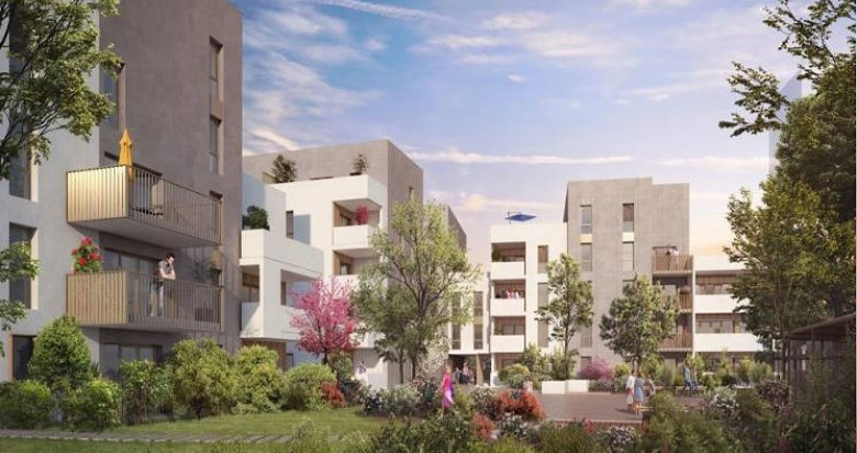 Achat / Vente programme immobilier neuf Lyon 07 au pied du tramway (69007) - Réf. 4496