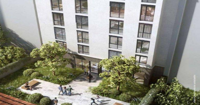 Achat / Vente programme immobilier neuf Lyon 07 résidence étudiante – quartier Saint-Louis (69007) - Réf. 5311