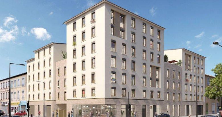 Achat / Vente programme immobilier neuf Lyon 08 à 5 minutes du Tramway (69008) - Réf. 4359