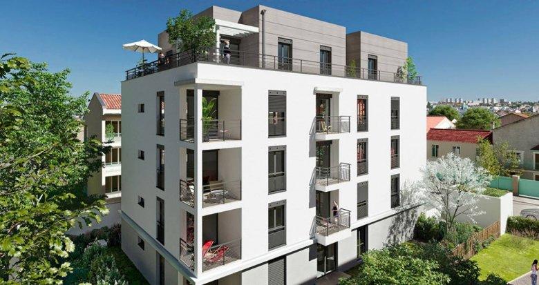 Achat / Vente programme immobilier neuf Lyon 08 à deux pas du métro D Mermoz Pinel (69008) - Réf. 6256