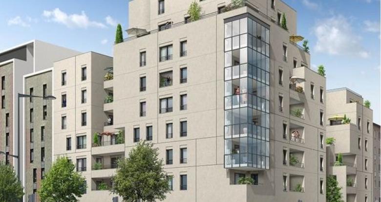 Achat / Vente programme immobilier neuf Lyon 08 quartier Monplaisir (69008) - Réf. 3499