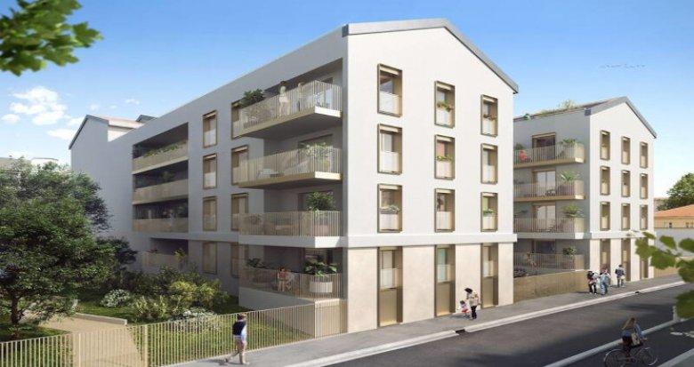 Achat / Vente programme immobilier neuf Lyon 09 à 2min du métro D Valmy (69009) - Réf. 5485