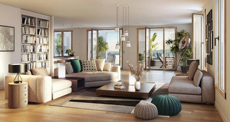 Achat / Vente programme immobilier neuf Lyon 2 Confluence-Montrochet (69002) - Réf. 5036