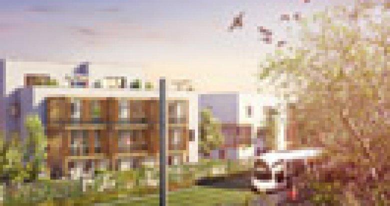 Achat / Vente programme immobilier neuf Lyon 3 en bordure du Parc Bazin (69003) - Réf. 2846