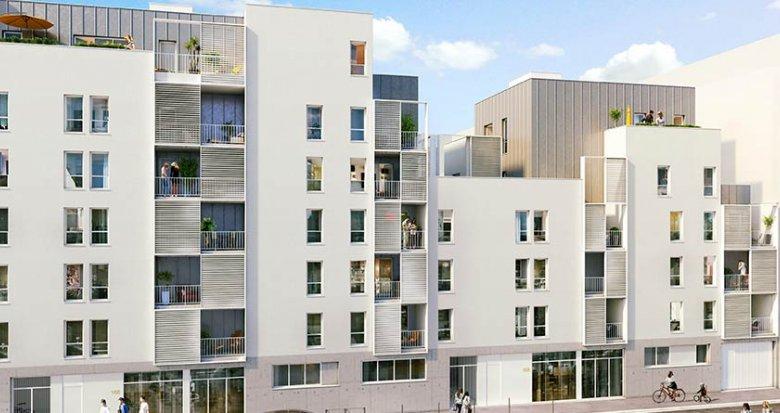 Achat / Vente programme immobilier neuf Lyon 3 proche avenue Felix Faure (69003) - Réf. 1840
