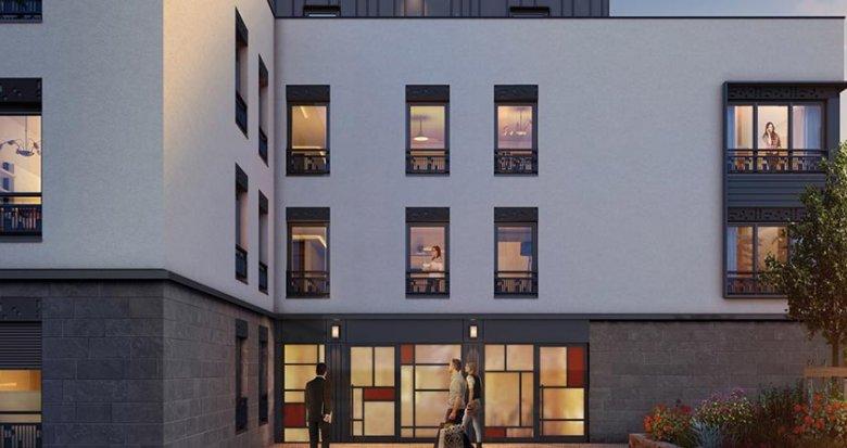 Achat / Vente programme immobilier neuf Lyon 3 proche du Parc Georges Bazin (69003) - Réf. 435