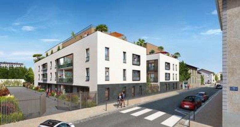Achat / Vente programme immobilier neuf Lyon 3 Quartier Montchat (69003) - Réf. 290