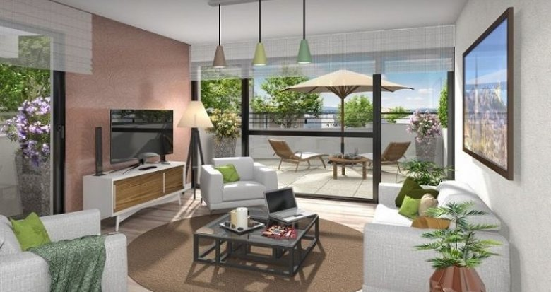 Achat / Vente programme immobilier neuf Lyon 3 quartier résidentiel Montchat (69003) - Réf. 1312