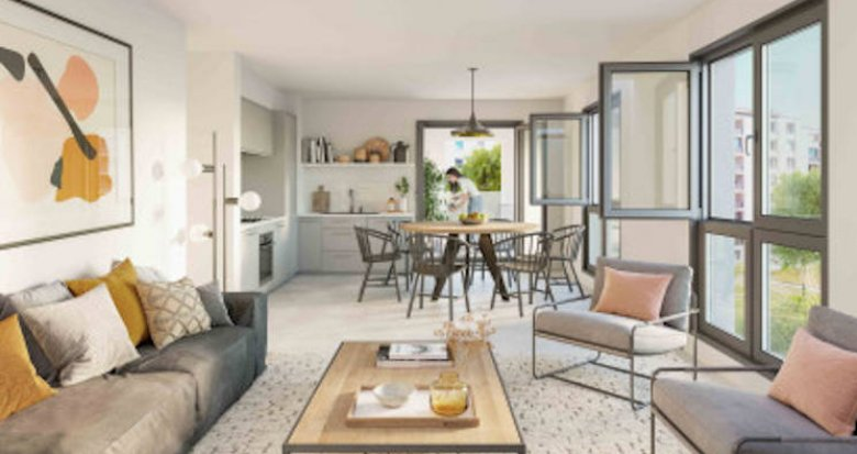 Achat / Vente programme immobilier neuf Lyon 7 au coeur du quartier de Gerland (69007) - Réf. 5245