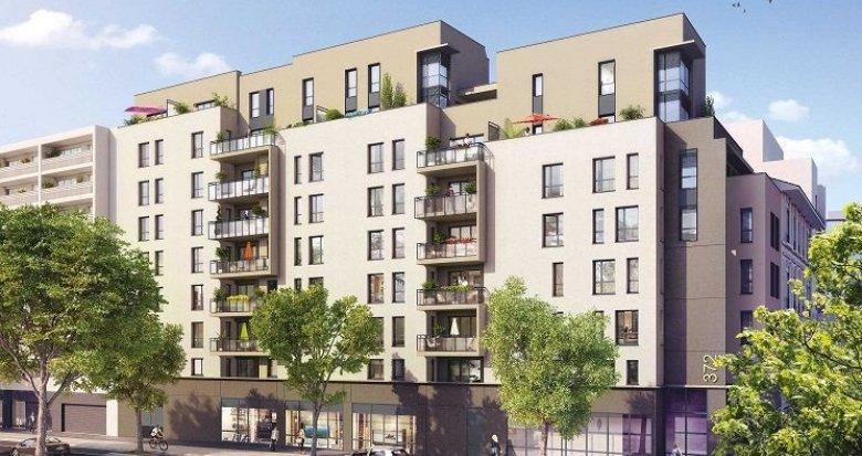 Achat / Vente programme immobilier neuf Lyon 7 proche Jean Macé et Garibaldi (69007) - Réf. 1065
